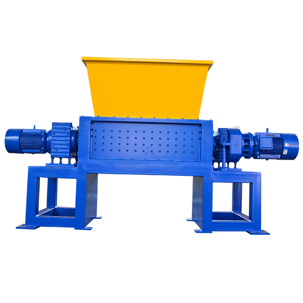Universal double shaft shredder